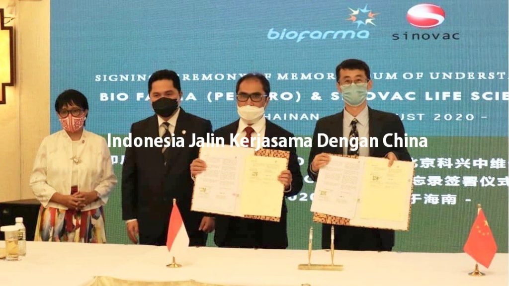 Indonesia Jalin Kerjasama Dengan China