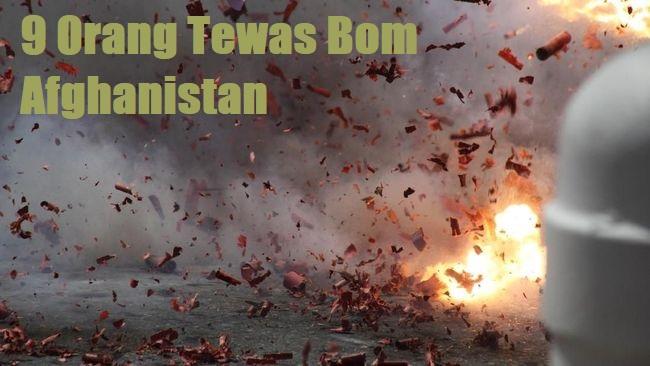 9 Orang Tewas Bom Afghanistan