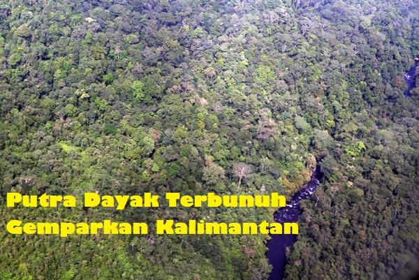 Putra Dayak Terbunuh Gemparkan Kalimantan