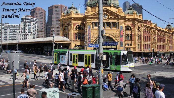 Australia Tetap Tenang Masa Pandemi
