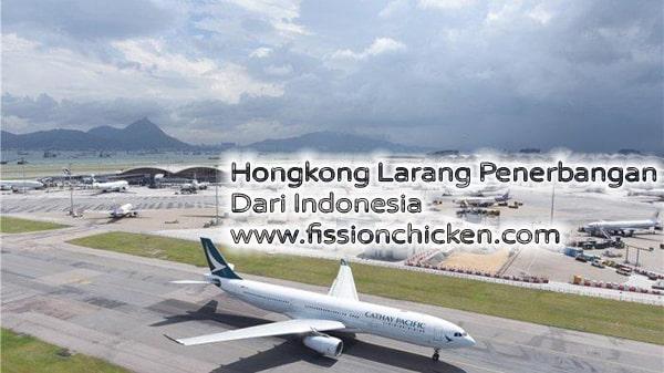 Hongkong Larang Penerbangan dari Indonesia, 25 Juni 2021